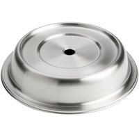 American Metalcraft PC1068R 10 5/8 inch-10 11/16 inch Stainless Steel Satin Finish Plate Cover for Regular Foot Plates