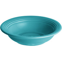 Acopa Capri 4.5 oz. Caribbean Turquoise China Fruit Bowl / Monkey Dish - 12/Pack