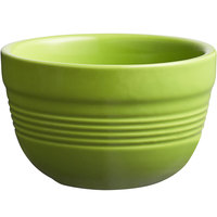 Acopa Capri 8 oz. Bamboo Green China Bouillon - 12/Pack