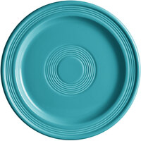 Acopa Capri 9 inch Caribbean Turquoise China Plate - 12/Case