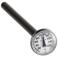 Comark T125 5 inch Pocket Probe Dial Thermometer 25 to 125 Degrees Fahrenheit