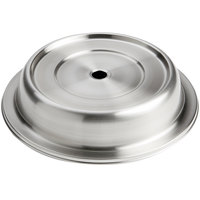 American Metalcraft PC1093E 10 1/2 inch-10 15/16 inch Stainless Steel Satin Finish Plate Cover for English Foot Plates