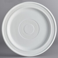 Acopa Capri 9 inch Coconut White China Plate - 12/Case