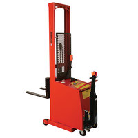Wesco Industrial Products 261037-PD 1000 lb. Counter Balance Powered Stacker with 56 inch Lift Height and Power Drive