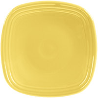 Homer Laughlin 921320 Fiesta Sunflower 7 1/2 inch Square Salad Plate - 12/Case