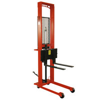 Wesco Industrial Products 260035 Standard Series 1000 lb. Fork Stacker with 25 inch Forks and 56 inch Lift Height