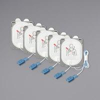 Philips 989803149991 Adult / Child Electrode Smart Pad III Set for HeartStart FR3 AEDs - 5/Pack