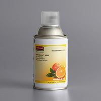 Rubbermaid FG402093 Microburst 9000 Mandarin Orange Metered Aerosol Air Freshener System Refill