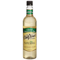 DaVinci Gourmet 750 mL All Natural Glazed Cinnamon Bun Flavoring Syrup