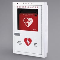 Philips PFE7023D Semi-Recessed Mount AED Cabinet with Strobe and Alarm