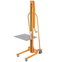 Wesco Industrial Products 272467 220 lb. Manual Winch Lift with 23 inch x 18 inch Platform and 58 1/2 inch Lift Height