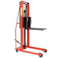 Wesco Industrial Products 260047 Economy Series 1000 lb. Fork Stacker with 25 inch Forks and 56 inch Lift Height