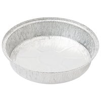 9 inch Round Foil Take-Out Pan with Board Lid - 200/Case