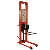Wesco Industrial Products 260036 Standard Series 1000 lb. Fork Stacker with 25 inch Forks and 64 inch Lift Height