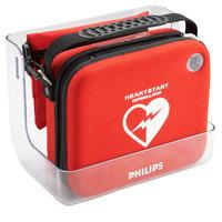 Philips 989803170891 Clear Wall Mount Bracket for HeartStart AED OnSite Standard Case, FRx Case, FR2 Case, or FR3 Case