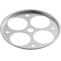 Vollrath 57901 Wear-Ever 4-Hole Aluminum Egg Poacher Inset for 8 inch Fry Pans