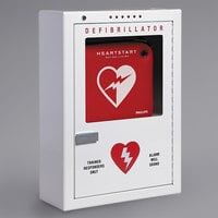 Philips PFE7024D Surface Mount AED Cabinet with Strobe and Alarm