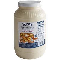 Ken's Foods Signature 1 Gallon Garlic Aioli