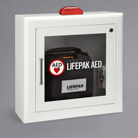 Physio-Control 11220-000083 Surface Mount AED Cabinet with Strobe and Alarm