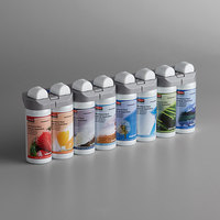 Rubbermaid 3486092 Microburst Duet 8 Assorted Scents Metered Aerosol Air Freshener System Refill Variety Pack