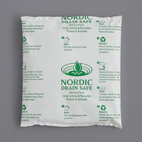 Nordic NI12DS 12 oz. Drain Safe 6 inch x 5 1/2 inch x 1 inch Gel Cold Pack   - 48/Case
