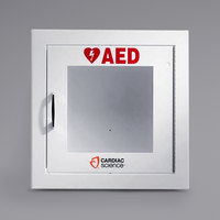 Cardiac Science 50-00395-10 Semi-Recessed Mount Standard Size AED Cabinet