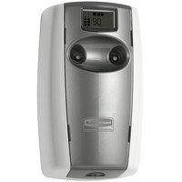 Rubbermaid FG4870001 Microburst Duet White / Grey Pearl Metered Aerosol Air Freshener System