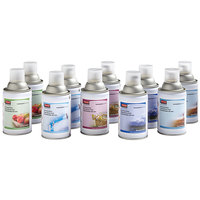 Rubbermaid FG401231 10-Pack Assorted Scents Standard Metered Aerosol Air Freshener System Refill