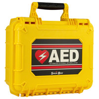 HeartSine AMP9900HS Shok Box Watertight Hard Case for Samaritan PAD AEDs