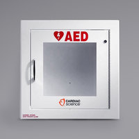 Cardiac Science 50-00395-20 Semi-Recessed Mount Standard Size AED Cabinet with Alarm
