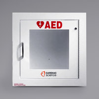 Cardiac Science 50-00400-20 Recessed Mount Standard Size AED Cabinet with Alarm