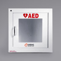 Cardiac Science 50-00392-20 Surface Mount Standard Size AED Cabinet with Alarm