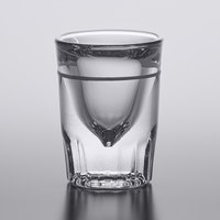 Anchor Hocking 5280/1612UL 1.25 oz. Fluted Shot Glass with Cap Line   - 72/Case