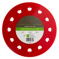 9 3/4 inch Red Apple Shaped Pie Crust Cutter