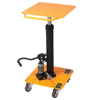 Wesco Industrial Products 272469 200 lb. 16 inch x 16 inch Value Lift Table with 46 inch Lift Height