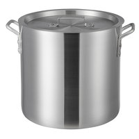 Choice 20 Qt. Heavy Weight Aluminum Stock Pot with Cover
