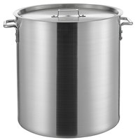 Choice 60 Qt. Heavy Weight Aluminum Stock Pot with Cover