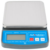 AvaWeigh PC10 10 lb. Compact Digital Portion Control Scale