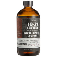 18.21 Bitters 16 oz. Rosemary Sage Concentrated Syrup