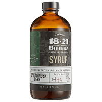 18.21 Bitters 16 oz. Spicy Ginger Beer Concentrated Syrup