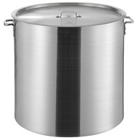 Choice 160 Qt. Heavy Weight Aluminum Stock Pot with Cover