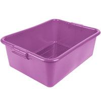 Vollrath 1527B-C80 Traex® Color-Mate Purple Allergen 20 inch x 15 inch x 7 inch Food Storage Box - Bulk
