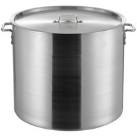Choice 100 Qt. Heavy Weight Aluminum Stock Pot with Cover