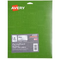 Avery 61520 PermaTrack 3 3/4 inch x 2 inch Metallic Asset Labels - 64/Pack
