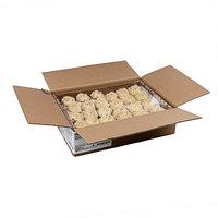 Rich's 3 oz. Gourmet Preformed PB&J Peanut Butter Cookie Dough with Raspberry Filling - 96/Case