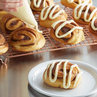 Rich's Effortless Baking 2.5 oz. Cinnamon Roll Dough with Icing - 60/Case