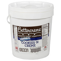 Rich's Bettercreme Cookies 'N Creme Oreo Whipped Icing - 9 lb. Pail