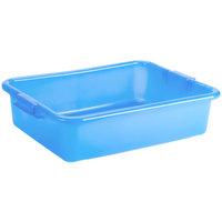 Vollrath 1521B-C04 Traex® Color-Mate Blue 20 inch x 15 inch x 5 inch Food Storage Box - Bulk