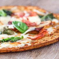 Rich's 10 inch Gluten-Free Par-Baked Seasoned Broccoli Cheddar Pizza Crust - 24/Case