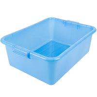 Vollrath 1527B-C04 Traex® Color-Mate Blue 20 inch x 15 inch x 7 inch Food Storage Box - Bulk